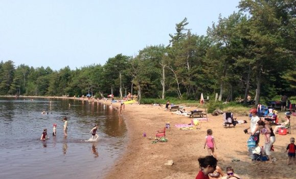 Dollar Lake.beach